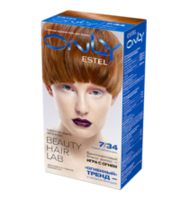 Vopsea p/u păr, ESTEL Only, 100 ml., 7/34 - Blond cupru-auriu