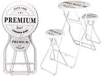Стол для терасы раскладной с 2 стульями Premium146X101X60cm,