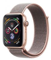Apple Watch 4 40mm Gold Aluminum Case Pink Sand Loop Band
