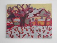 Зима в Чукур-Минжир (Чимишлия), 60x80 см., холст, масло