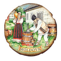 cumpără Магнит на холодильник (дерево) - Молдова în Chișinău