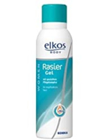 Gel de bărbierit Elkos Body Rasier Gel Femei 150 ml