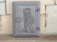 Дверца чугунная глухая инспекционная правая DKR4