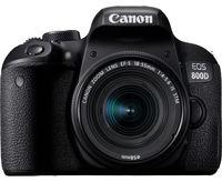 Aparat foto DSLR Canon EOS 800D Kit 18-55 IS STM