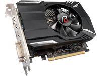 """VGA ASRock Radeon RX560 4GB GDDR5 Phantom Gaming //  AMD Radeon RX 560 (14CU), 4GB GDDR5, 128 bit, Engine 1223MHz (OC Mode), Memory 7028MHz (OC Mode), Active Cooling, DVI-D *1, DisplayPort 1.4 *1, HDMI 2.0b *1"""