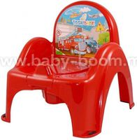 Tega Baby Горшок-кресло Машинки CS-007-121 красный