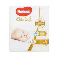 Huggies подгузники Elite Soft 2, 4-7кг. 82 шт