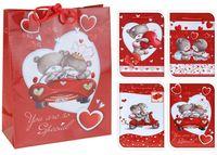 """купить Пакет подарочный """"Valentine"""" с мишками, 11.5Х11.5cm в Кишинёве"""