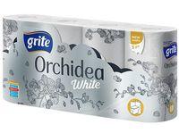 Бумага гигиеническая GRITE Orhideea White 3 сл 21.25м1/8