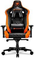 Gaming Chair Cougar ARMOR TITAN Black/Orange, User max load up to 160kg / height 160-195cm