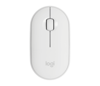 Wireless Mouse Logitech Pebble M350, White