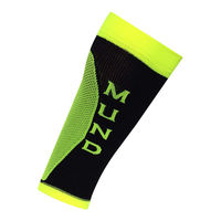 Гетры Mund Compression Long Distance Correr, black/green, 347/12-14