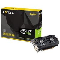 ZOTAC GTX 950 AMP! (IceStorm), 2GB DDR5 128bit 1405/7020Mhz