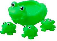 купить Набор резиновых лягушек для купания 4шт в Кишинёве