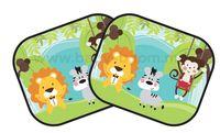 Chipolino Шторки от солнца  SKJUN151B (2шт) джунгли