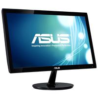 "19.5"" Asus ""VX207NE"", Black (1366x768, 5ms, 200cd, LED100M:1, D-Sub+DVI, Black)"