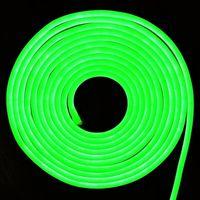 Гибкий неон светодиодный V-Tac зеленый 24В VT-2835