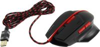 SVEN RX-G905 Gaming, Optical Mouse,Black-Red