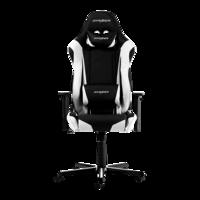 Игровое кресло DXRacer Racing GC-R0-NW, черный / белый,