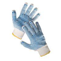 Manusi tricotaj cu puncte PVC 2 par. QUAIL