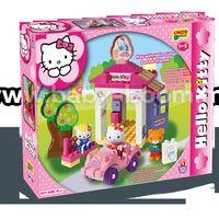 Androni Giocattoli 8671-00HK Конструктор Автомойка Hello Kitty (42эл)