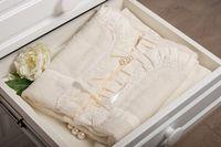 Dormi Baby Полотенце для крещения c кружевом