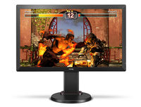 """24.0"""" BenQ """"RL2460HT"""", Black-Red (1920x1080, 1ms, 250cd, LED12M:1, D-Sub+DVI+HDMI, HAS/Pivot) REPACK (24.0"""" TN LED, 1920x1080 Full-HD, 0.276mm, 5ms/1ms (GtG), 250 cd/m², DCR 12Mln:1 (1000:1), 72%NTSC, 16.7 Mln, 170°/160° @CR>10, 30~83 KHz(H)/ 50~76Hz(V), D-sub + DVI-D + HDMI x2, HDMI Audio-In, Headphone-Out, Built-in PSU, HAS 110mm, Tilt: -5/+15°, Swivel: +/-45°, Pivot, VESA Mount 100x100,  Black eQualizer, Smart Scaling, RTS Mode,  Black-Red)"""