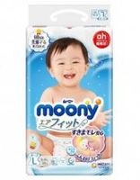 Подгузники Moony L (9-14 kg) 58 шт