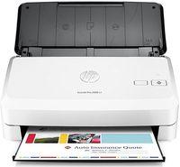 HP ScanJet Pro 2000 S1 Sheetfeed Scanner, White