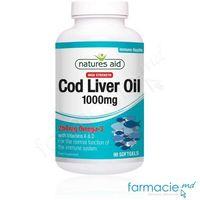 Cod Liver 1000 mg ( vit A, vit D) caps. N90 Natures Aid