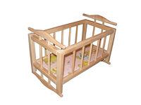 Кроватка-колыбель для кукл (45х24х30)