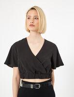 Блуза Jennyfer Чёрный