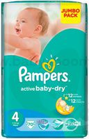 Pampers 6924/2712 Active Baby Maxi 4 (7-14 кг.) 70 шт.