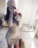 Платье Мадина серое