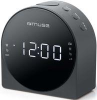 Часы-будильник MUSE M-185 CR BLACK