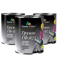 """Грунт """"GAMA-COLOR""""  ГФ-021 (0,9 кг) черный"""