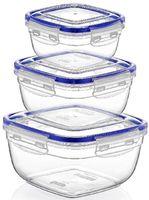 Аксессуар для кухни Dunya Plastik 30142 Набор контейнеров 3шт.