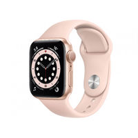 Apple Watch Series 6 GPS, 44mm Aluminum Case with Pink Sand Sport Band