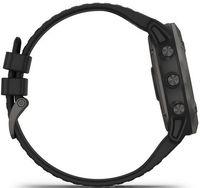 Смарт-часы Garmin fenix 6X Pro Solar Titan Carbon Gray/Black (010-02157-21)