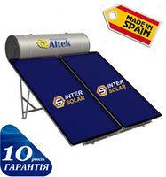 Система солнечного нагрева воды 2-х контурная с плоскими коллекторами ALBA 300