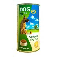 Корм для собак DogEx с телятиной 1250 gr