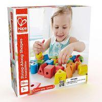 Hape Деревянная игрушка Шнуровка с геометрическими фигурками