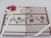 Полотенце для лица  CORONET HOME (2 штуки )в подарочной упаковке, Турция
