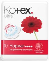 Kotex прокладки Ultra Normal, 10шт