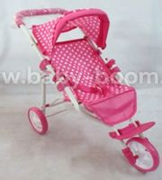 Baby Mix ME-9326C-M1422W Трёхколёсная коляска для кукол