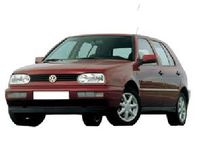 Ветровик Volkswagen Golf 3 с 1991-1998 г.в 5d
