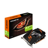 """VGA card PCI-E Gigabyte GV-N1030OC-2GI GF GT1030,2048MB DDR5, Engine 1265/1544MHz, Memory 6008 MHz, Fan Cooling, DVI-D,Native HDMI 2.0b,H=26.8 L=167.7 W=111.2 mm"""