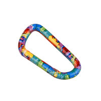 Брелок Munkees Carabiner 8x80 mm Colored, 3328