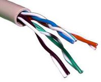 HQ CCA UTP CAT5e 24AWG (цена за 305m) (0.51mm) network cable