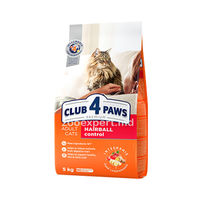 CLUB 4 PAWS Hairball Control 1kg ( развес )